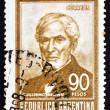 Stock Photo: Postage stamp Argentin1967 Guillermo Brown, Admiral