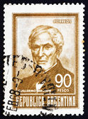 Postage stamp Argentina 1967 Guillermo Brown, Admiral — Stock Photo