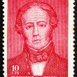 Postage stamp Chile 1965 Andres Bello, Writer and Educator - Stock Photo