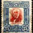 Postage stamp Mexico 1910 Epigmenio Gonzalez, revolutionary — Stock Photo #12382064