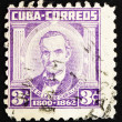 Stock Photo: Postage stamp Cub1954 Jose de lLuz Caballero, Scholar