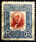 Postage stamp Mexico 1910 Epigmenio Gonzalez, revolutionary — Stock Photo