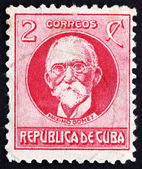 Postage stamp Cuba 1917 Maximo Gomez, General — Stock Photo