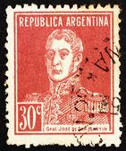 Postage stamp Argentina 1923 Jose de San Martin, General — Stock Photo