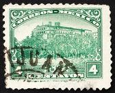 Postage stamp Mexico 1923 Chapultepec Castle, Mexico City — Stock Photo