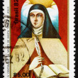 Postage stamp Brazil 1982 St. Theresa of Avila — Stock Photo
