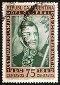 Postage stamp Argentina 1950 Jose de San Martin, General — Stock Photo