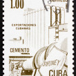 Postage stamp Cuba 1982 Cement, Cuban Export — Stock Photo