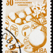 Postage stamp Cuba 1982 Fresh Fruit, Cuban Export — Stock Photo