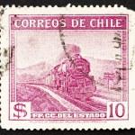 Postage stamp Chile 1940 State Railways — Stock Photo #12497964