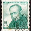 Postage stamp Chile 1965 Msgr. Carlos Casanueva — Stock Photo