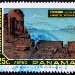 Постер, плакат: Postage stamp Panama 1972 View of Portobelo Panama