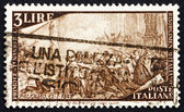 Postage stamp Italy 1948 Uprising at Palermo — Stock Photo