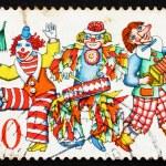 Postage stamp Germany 1972 Carnival Dancers — Stock Photo #12661299