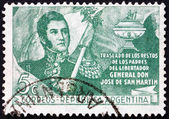 Postage stamp Argentina 1949 Jose de San Martin, General — Stock Photo