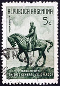 Postage stamp Argentina 1941 General Julio Roca, President — Stock Photo