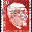 Postage stamp Germany 1957 Leo Baeck, Rabbi of Berlin — Stock Photo