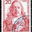Постер, плакат: Postage stamp Germany 1957 Paul Gerhardt hymn Writer