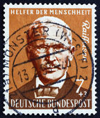 Postage stamp Germany 1958 Friedrich Wilhelm Raiffeisen — Stock Photo