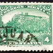 Postage stamp Mexico 1923 Chapultepec Castle, Mexico City - Stock Photo