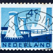 Stock Photo: Postage stamp Netherlands 1963 Cooling Towers