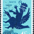 Постер, плакат: Postage stamp Netherlands 1963 Aunt Lucy Nursery Rhymes