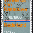 Postage stamp Netherlands 1968 National Anthem — Stock Photo