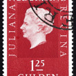 Stock Photo: Postage stamp Netherlands 1969 Queen Juliana