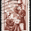 Stock Photo: Postage stamp Italy 1950 Lace-making, Abruzzi e Molise