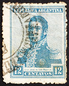 Postage stamp Argentina 1917 Jose de San Martin, General — Stock Photo