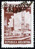 Znaczek argentyna 1966 przemysłu, fabryka — Zdjęcie stockowe