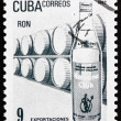 Postage stamp Cuba 1982 Rum, Cuban Export — Stock Photo