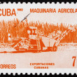 Postage stamp Cuba 1982 Agricultural Machinery, Cuban Export — Stock Photo #12731698