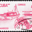 Postage stamp Cuba 1982 Lobster, Cuban Export — Stock Photo