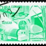 Postage stamp Cuba 1982 Sugar, Cuban Export — Stock Photo #12731932