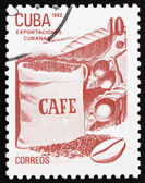 Postage stamp Cuba 1982 Coffee, Cuban Export — Photo