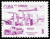 Postage stamp Cuba 1982 Nickel, Cuban Export — Stock Photo