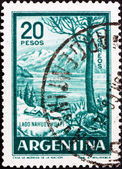 Postage stamp Argentina 1960 Nahuel Huapi Lake — Stock Photo