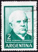 Postage stamp Argentina 1962 Domingo Faustino Sarmiento — Stock Photo