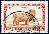 Postage stamp Argentina 1936 Merino Sheep, Wool — Stock Photo