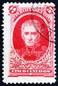 Postage stamp Argentina 1910 Cornelio Saavedra — Stock Photo
