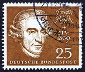 Postage stamp Germany 1959 Joseph Haydn,Composer — Stock Photo