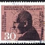 Постер, плакат: Postage stamp Germany 1967 Friedrich von Bodelschwingh