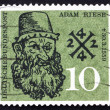 Postage stamp Germany 1959 Adam Riese, Arithmetic Teacher — Stock Photo