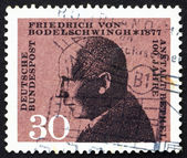 Postage stamp Germany 1967 Friedrich von Bodelschwingh — Stock Photo