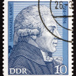 Postage stamp GDR 1974 Immanuel Kant, Philosopher — Stock Photo #13142634