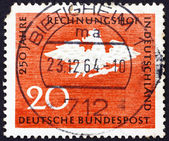 Postage stamp Germany 1964 Prussian Eagle — Stock Photo