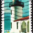 Postage stamp USA 1990 Admiralty Head, Washington, Lighthouse — Stock Photo