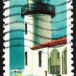 Postage stamp USA 1990 Admiralty Head, Washington, Lighthouse — Stock Photo #13312790