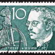 Stock Photo: Postage stamp Germany 1958 Rudolf Diesel, Inventor